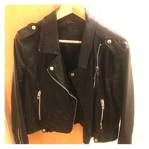Vegan Leather Jacket by Blank NYC